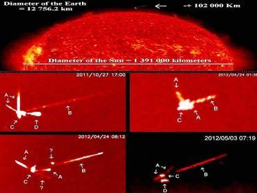 UFO: Quei misteriosi oggetti attorno al sole che la NASA continua a negare