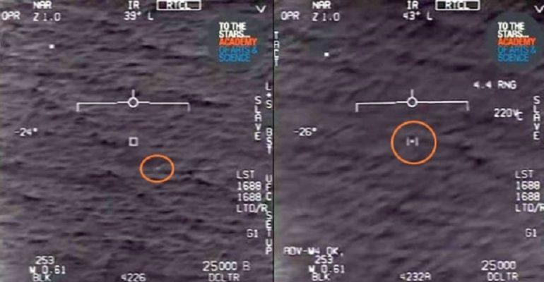 Radar F/A-18 Super Hornet aggancia un UFO: Il video